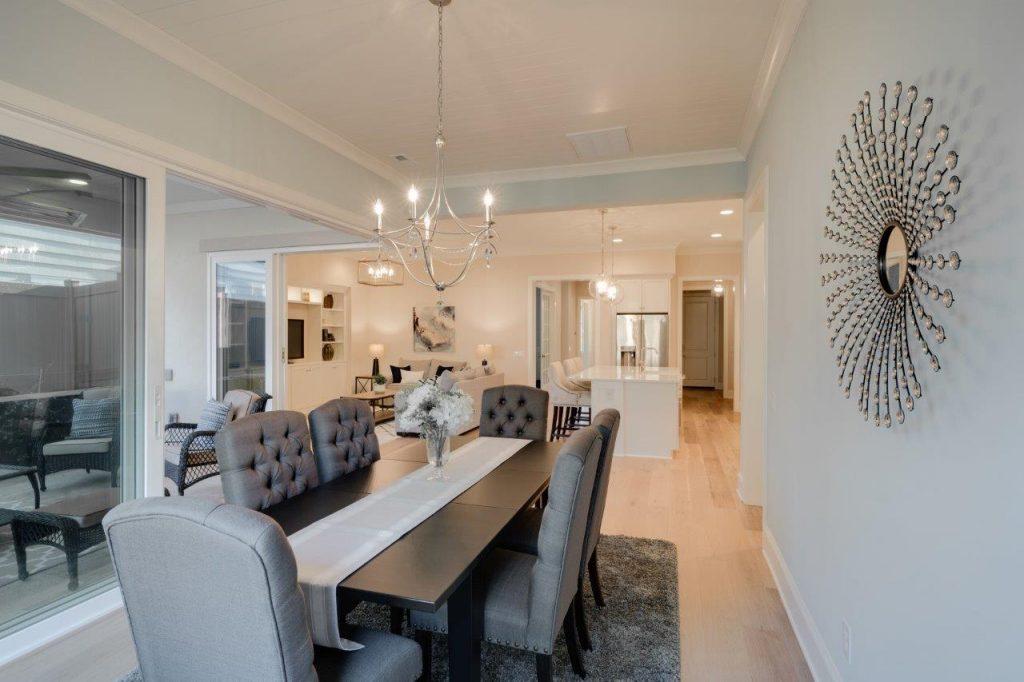 dining room Home Staging Service Company Cornelius Davidson Huntersville Mooresville NC