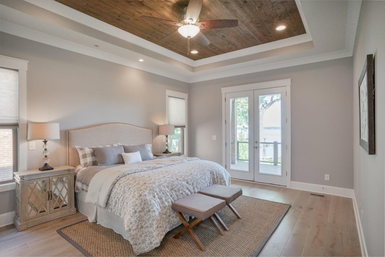 master bedroom Home Staging Service Company Cornelius Davidson Huntersville Mooresville Denver Charlotte NC